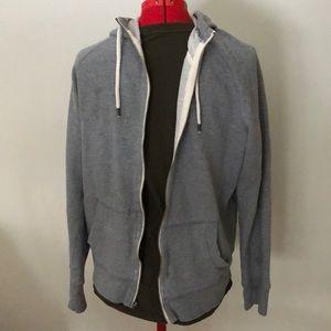 Gap Slim Fit Lived In Zip Up Hoody Sweatshirt